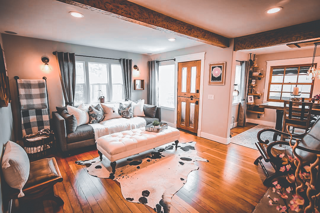 30 Living Rooms Adorned with Cowhide Rugs- 2020 - Page 13 ...